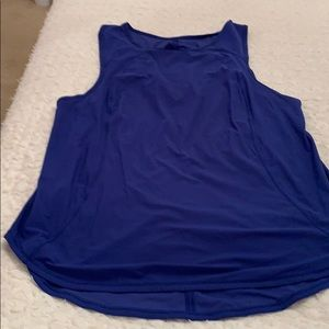 Dark blue lululemon tank top size 10